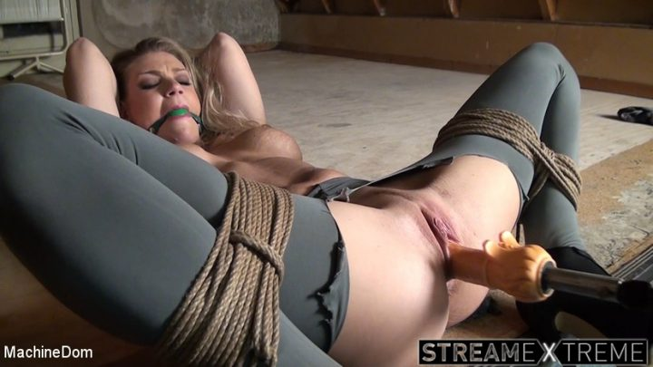 Machinedom.com – Ballgagged, Whipped, And.. Ally & Ar 2017 Big Tits