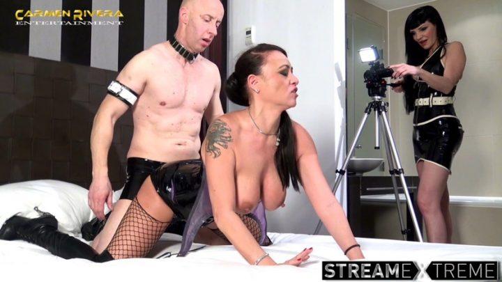 Carmenrivera.com – Cuckold 666: Chapter One Carmen Rivera & Miss Roxxy & Mister P. 2018 Fingering