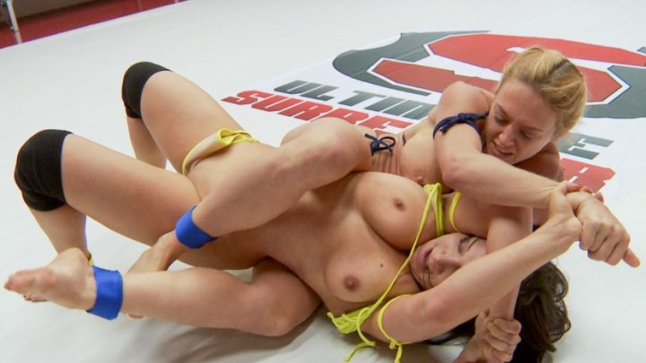 Ultimatesurrender.com – Lea Lexis Vs. Darling in a.. Dee Williams & Lea Lexis 2014 Pussy Eating
