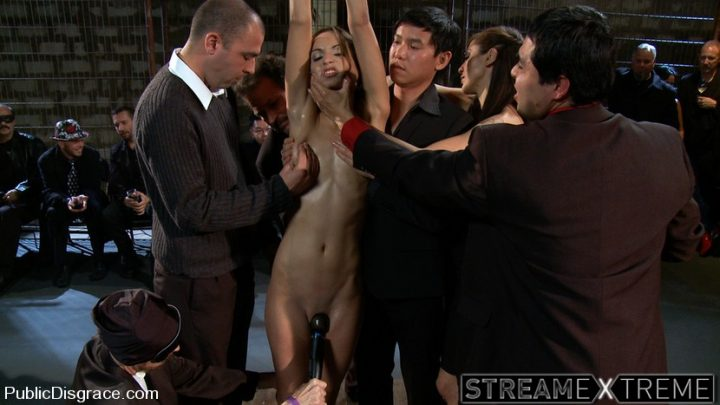 Publicdisgrace.com – Amber Rayne – The Biggest Whore.. John Strong & Amber Rayne 2010 Anal Fisting