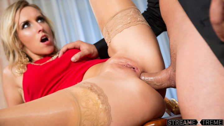 Private.com – Sexy Blonde Jenny in a Red Dress.. Jenny Simons 2014 Creampies