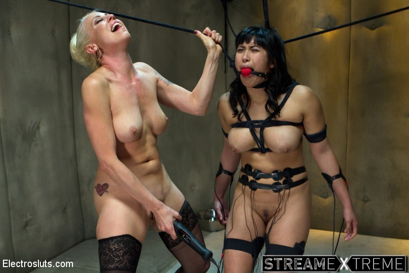 Electrosluts.com – Lesbian Aversion Therapy Mia Li & Lorelei Lee 2014 LezDom