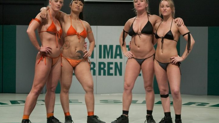 Ultimatesurrender.com – ROUND ONEThe Dragons(0-0) vs The.. Dia Zerva & Jessie Cox & DragonLily 2010 Champion