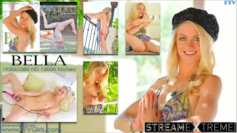 Ftvgirls.com – The Power of Flexibility Bella 2013 First Time Experience